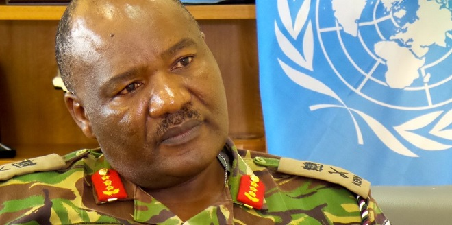 Kenya's Ondieki fired by the UN. Kenya has hit back, withdrawing troops.