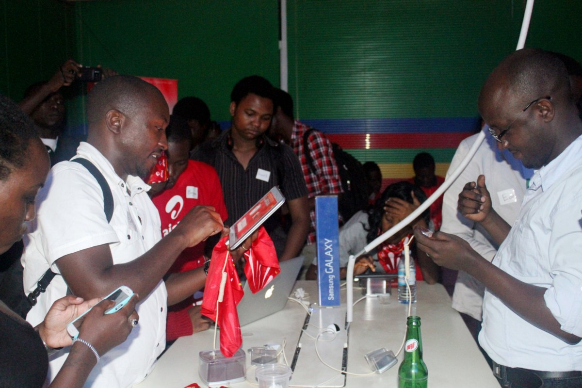 Guests playing Matatu from different devices at a recent Matatu-thon