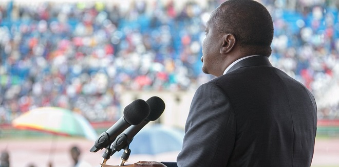 108 DAYS TO GO: Kenyatta warns against violence as Kenya poll fever rises