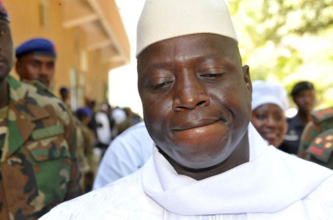 Gambia revokes diplomatic passports of ex-leader Jammeh and family
