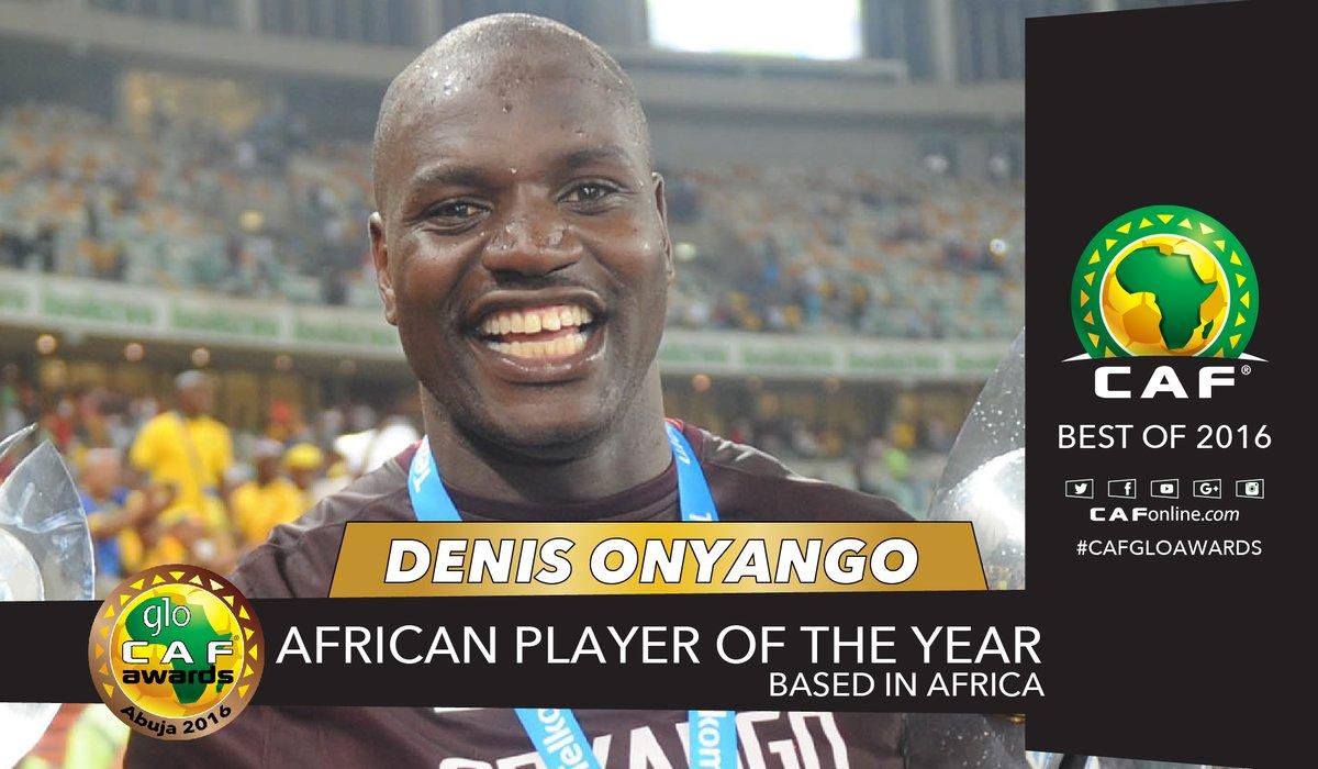 CAF: Onyango, Uganda Cranes best in Africa in 2016