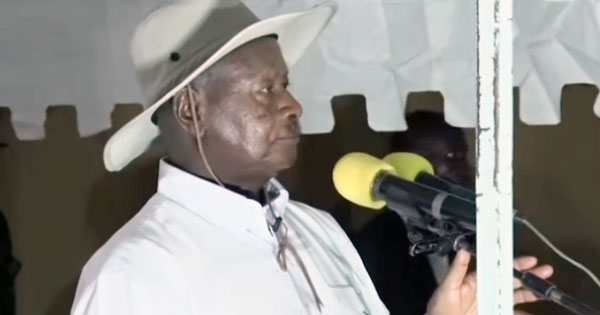 VIDEO: Police infiltrated by criminals, says Museveni