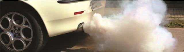 TECH: Smoke from exhaust
