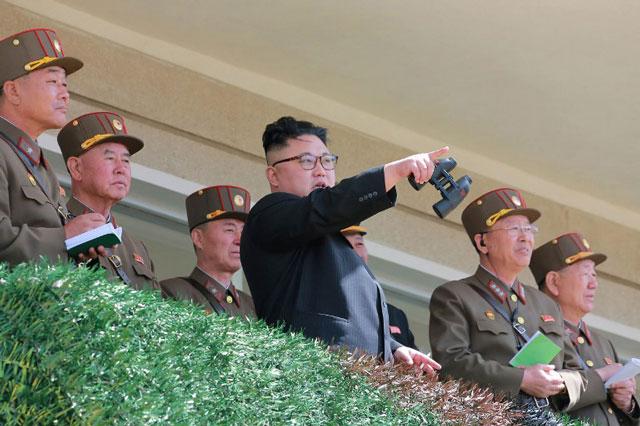 North Korea ignores Trump, conducts 'massive fire drill'