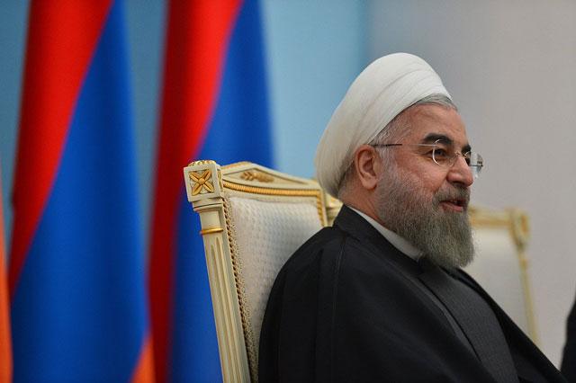Iran's Rouhani condemns U.S. attack on Syria, criticises GCC support