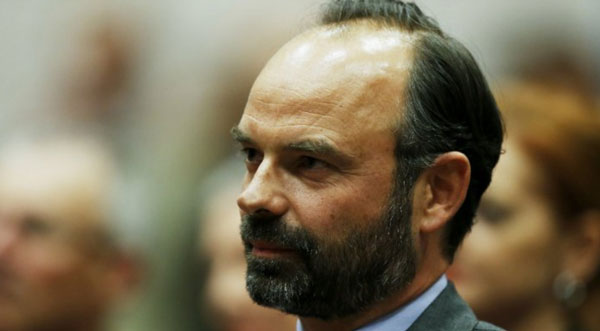 Macron names centre-right Edouard Philippe as French PM