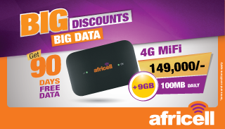 AFRICELL BIG DISCOUNTS