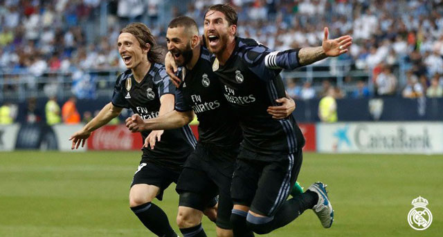 Zinedine Zidane revels in Real Madrid's La Liga triumph