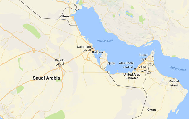 Egypt Cuts Diplomatic Ties With Qatar Following Saudi Bahrain - Map of qatar and egypt