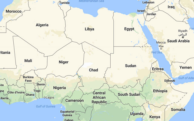 Sudan Vows To Normalise Ties With US As Travel Ban Lifted - Map of countries in us travel ban