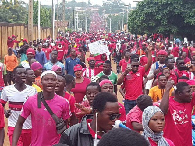 One dead, 25 injured as rival protests rock Togo