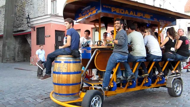 Amsterdam Bans Controversial Beer Bikes