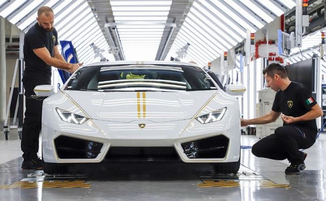 The Lamborghini Built Just For Pope Francis