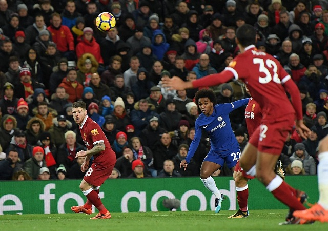 Willian denies Liverpool morale-boosting win — Nigeria Today