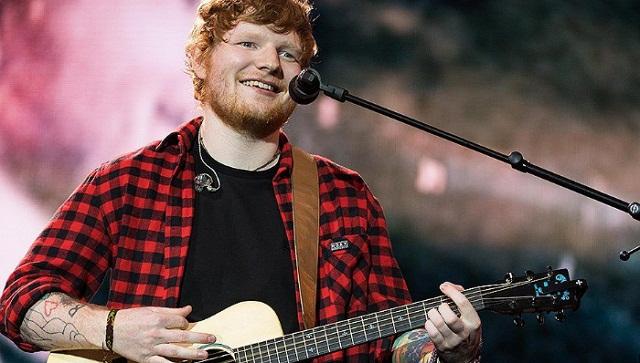 Ed Sheeran picks up two pop Grammys