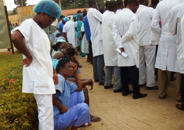 Togo healthcare workers join strike as protests mount