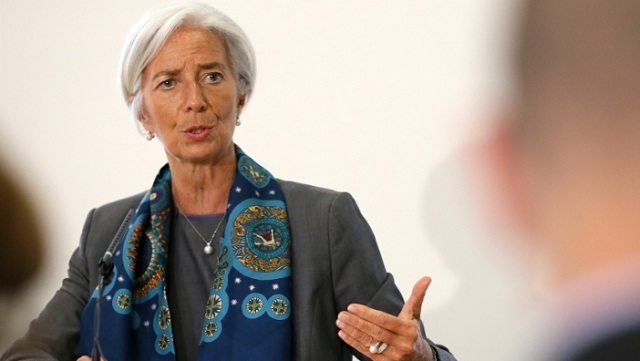 IMF's Lagarde warns on rate risk from US tax reform