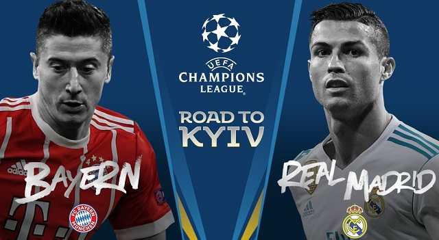 Bayern Face Real Madrid And Liverpool Play Roma In Champions League