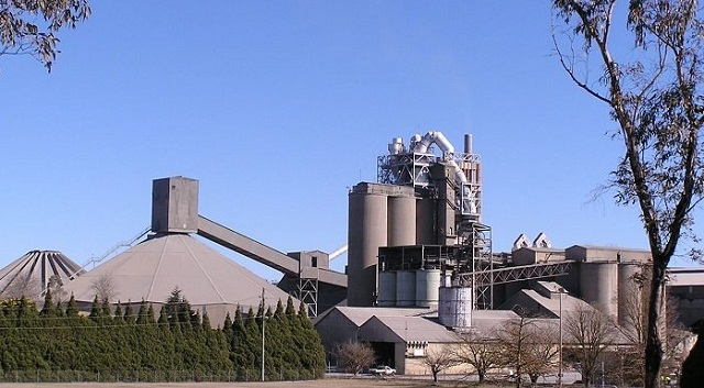 Cement prices plunge