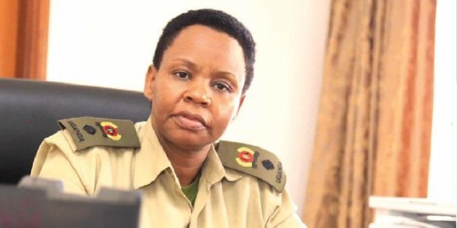 Lt. Col. Edith Nakalema