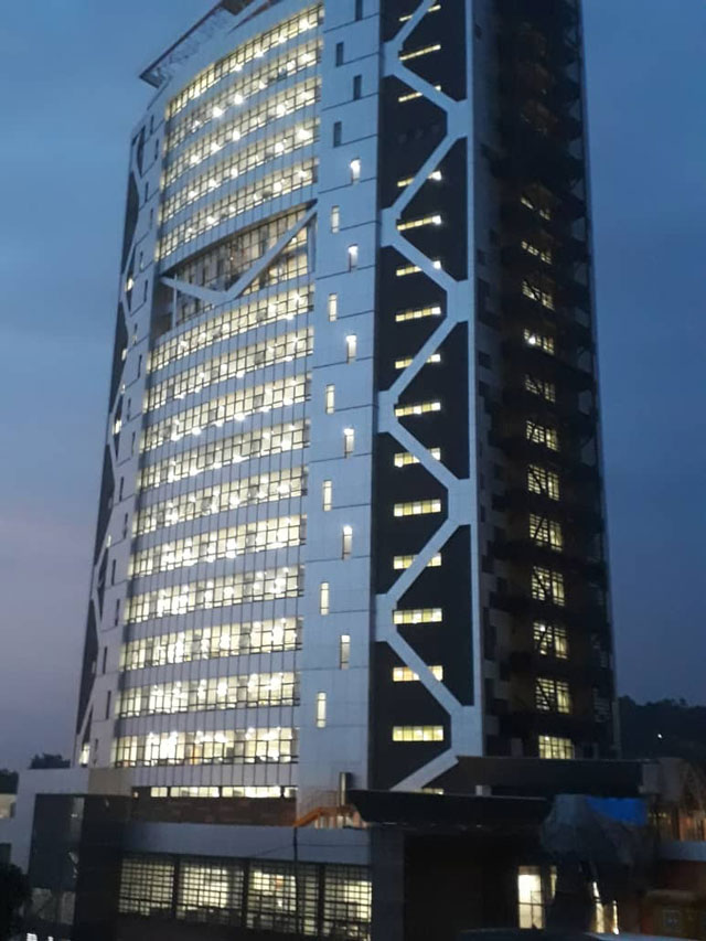 Rent Car For Month >> Museveni set to launch new URA tower, Uganda's tallest