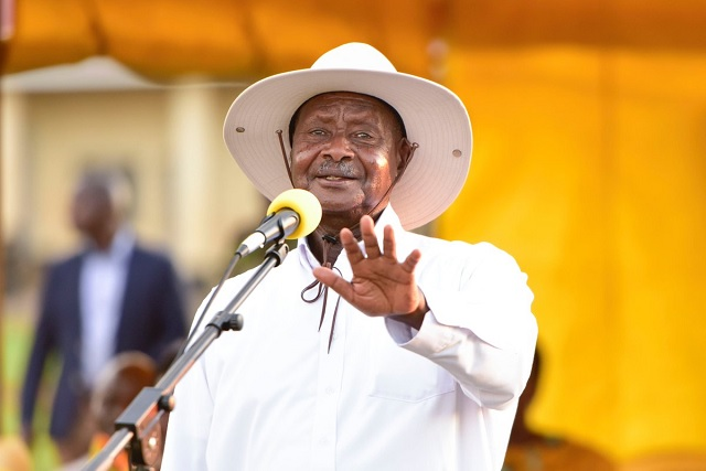 Image result for museveni