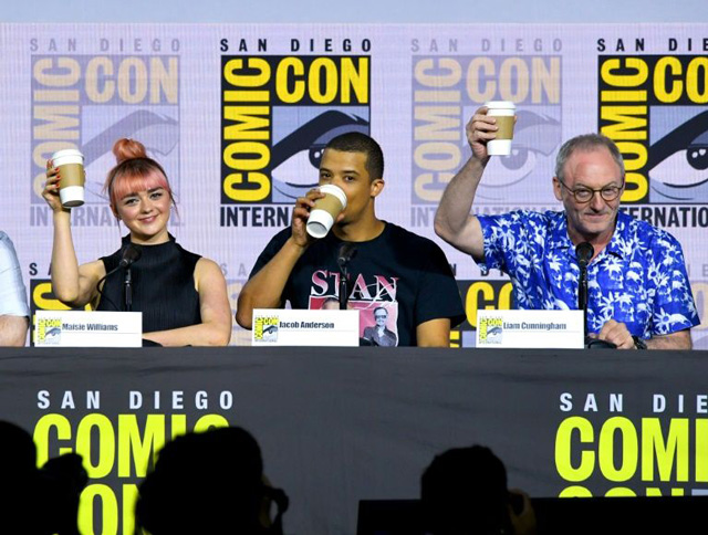 Game of Thrones' cast defend final season at Comic-Con