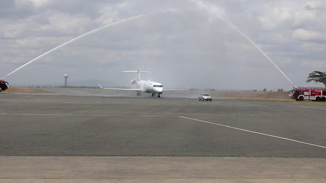 Eight on board as Uganda Airlines starts commercial flights