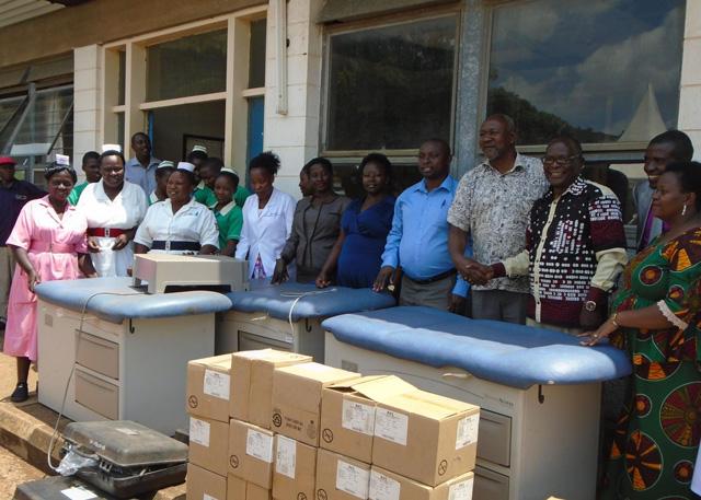 Nakaseke hospital gets medical supplies worth UGX 120M