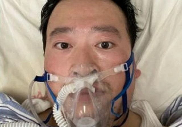china virus kills doctor who first warned of it  hospital
