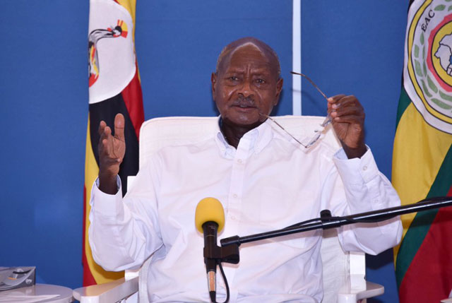 Free masks as Museveni eases lock-down