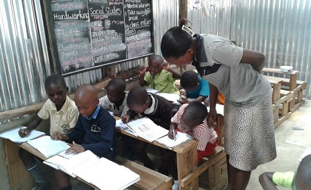 Private school teachers surviving on handouts from parents
