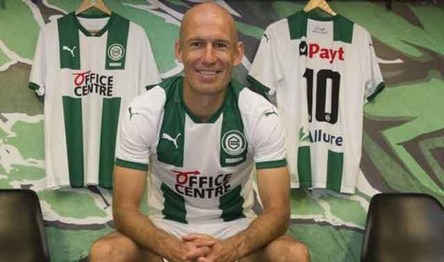 Former Soccer Star Arjen Robben Plans Comeback At Fc Groningen
