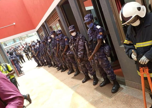 Police raids Bobi Wine's NUP headquarters